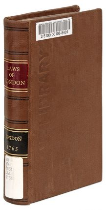 The Laws and Customs, Rights, Liberties, And Privileges, Of the. London