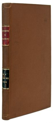 Committee of Inquiry into the Case of Mr Adolf Beck, Report from the. Trial, Great Britain, Home...