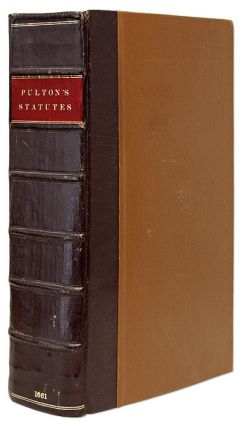 A Collection Of Sundry Statutes, Frequent in Use, With Notes in the