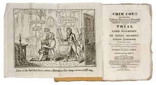 Crim Con!! Damages Fifteen Thousand Pounds! Fairburn (Senior's). Trial, Sir Henry Mildmay, Defendant.