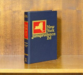 New York Jurisprudence 2d. Vol. 67A Injunctions to Inspections Laws. Thomson Reuters.