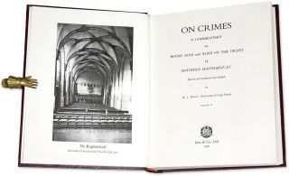 On Crimes: A Commentary on Books XLVII and XLVIII of the Digest 4 Vols