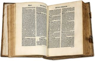 Reunion of Two Commentaries on Basic Texts of Canon Law by Bernardus