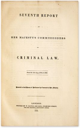 First[-Eighth] Report from His Majesty's Commissioners on Criminal...