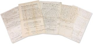 A Collection of 22 Legal Documents and Receipts Relating to Cilley. Manuscript Archive, Jonathan...