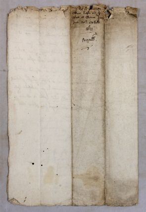 Legal Documents Relating to Six Trials, Great Britain, 1631-1632.