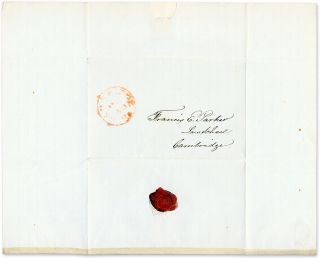 Autograph Letter Signed, by J M Williams, Accepting an Invitation...