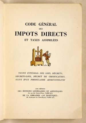 Code General des Impots Directs et Taxes Assimilees, Trade Edition`