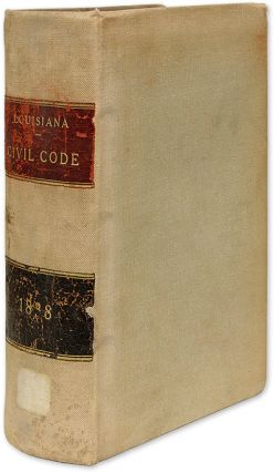 Civil Code of the State of Louisiana/Code Civil de L'Etat de la. Louisiana, Wheelock S. Upton,...