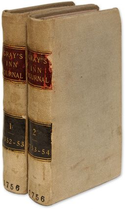 The Gray's-Inn Journal, In Two Volumes, London 1756. Arthur Murphy