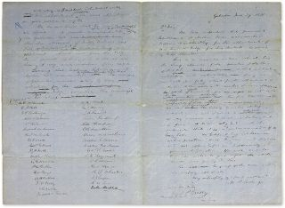 Draft Letters by Members of the Galvaston Bar Recommending William H..