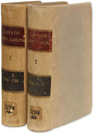 Laws of the State of North-Carolina, Including the Titles of such. Henry Potter, J. L. Taylor,...