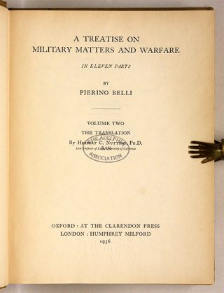 A Treatise on Military Matters and Warfare in Eleven Parts...