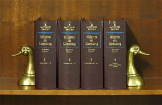 Milgrim on Licensing. 4 Vols. Current thru release 49/April 2019. Roger M. Milgrim
