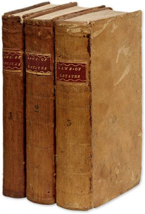 The Laws of the United States of America, In Three Volumes. United State, Congress, Richard Folwell