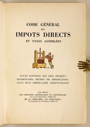 Code General des Impots Directs et Taxes Assimilees...