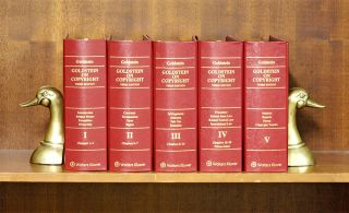 Goldstein on Copyright. Third edition. 5 Vols. thru 2019-1 supplement. Paul Goldstein