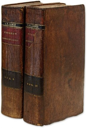 Commentaries on the Laws of Virginia, Comprising the Substance of. Henry St George Tucker