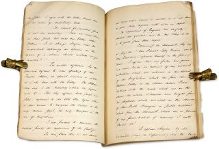 Documents Relating to a Railway Right-of-Way Case, 1883-1884. 6 items