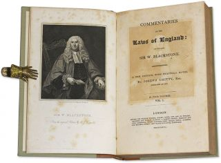 Commentaries on the Laws of England, By the Late Sir W Blackstone...