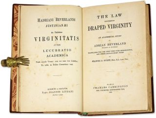 The Law Concerning Draped Virginity, An Academic Study by a Student...