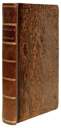 D Justiniani Institutionum Libri Quatuor: The Four Books of Justinian. Emperor of the East...