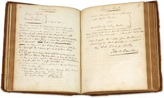 Account Book, New York City, 1795-1798. [xxiii], 326 pp. Quarto.
