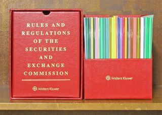 Red Box: Rules and Regulations of the SEC. thru Bull 169 May 15, 2019