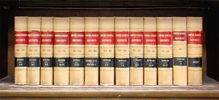 United States Supreme Court Reports, Curtis Edition. 13 vols. 2 feet