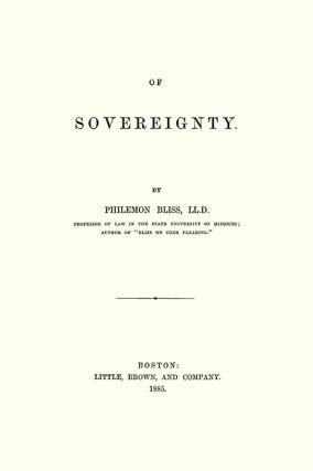 Of Sovereignty