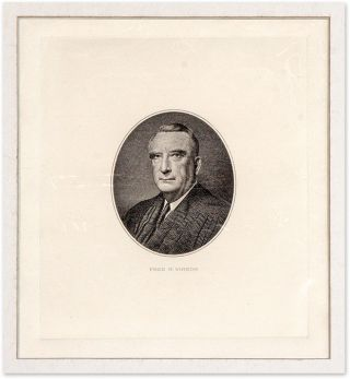 Engraved Image of Vinson, Mounted and Matted.