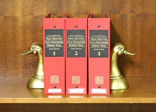 California Trial Practice: Civil Procedure During Trial 3rd Ed. 3 Vols. Mary E. Alexander,...
