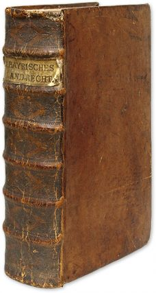 Reformacion der Bayrischen Lanndrecht [Bound with Two Books]. Bavaria