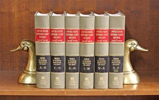 United States Supreme Court Reports/General Index to Decisions 6 vols. Lawyers Cooperative...