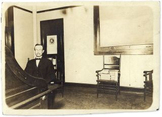 "4-7/8"" x 6-7/8"" Black-and-White Press Photograph of a Lawyer in His. Legal Publishing. Cyclopedia..."