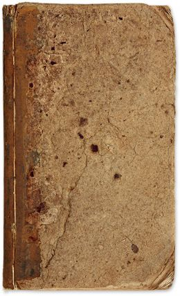 Richard E Meade's Commonplace Book, Jessamine County, KY, 1805-1809. Manuscript, Richard Everard...