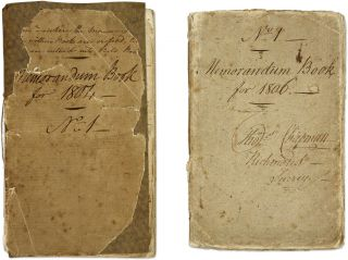 Memorandum Book for 1804, No 1 [and 1806], Richmond, Surrey, England. Manuscript, Thomas Chapman