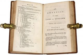 An Analysis of the Laws of England. To Which Is Prefixed an...