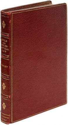 A View of the Civile and Ecclesiastical Law, And Wherein the. Sir Thomas Ridley