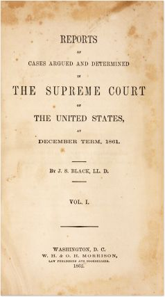 Reports of Cases Argued and Determined in the Supreme Court...