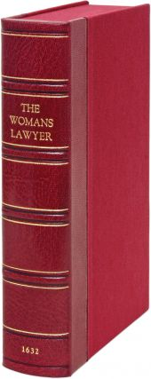 The Lawes Resolutions of Womens Rights: Or, The Lawes Provision for...
