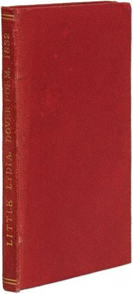 Little Lydia, A Pathetic Ballad, Founded on Fact. Dover, England 1832. Alfred Kent