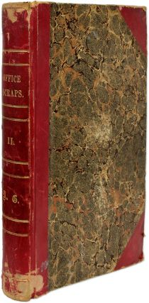 Office Scraps II [Spine Title], Providence, RI, 1883-1902. Scrapbook, Arnold Green