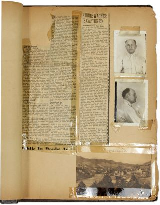 Scrapbook Compiled by FBI Agent and Lawyer Ralph M Whitticar, 1941...
