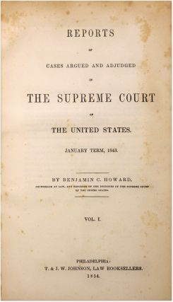 Reports of Cases Argued and Adjudged in the Supreme Court... 24 Vols..