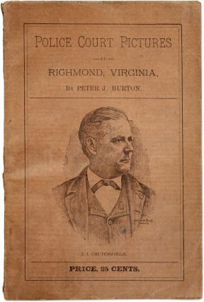 Police Court Pictures at Richmond, Virginia. Peter J. Burton