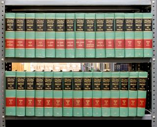Am Jur Proof of Facts 1st. Vols. 1-30; with September 1991 supplements. Thomson Reuters Lawyers...