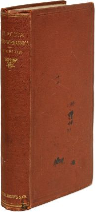 Placita Anglo-Normannica, Law Cases from William I. to Richard I....