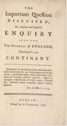 A Trial Bound to Five Pamphlets on Social and Political Topics.
