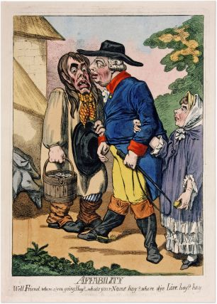 Affability, London, 1795. James Gillray